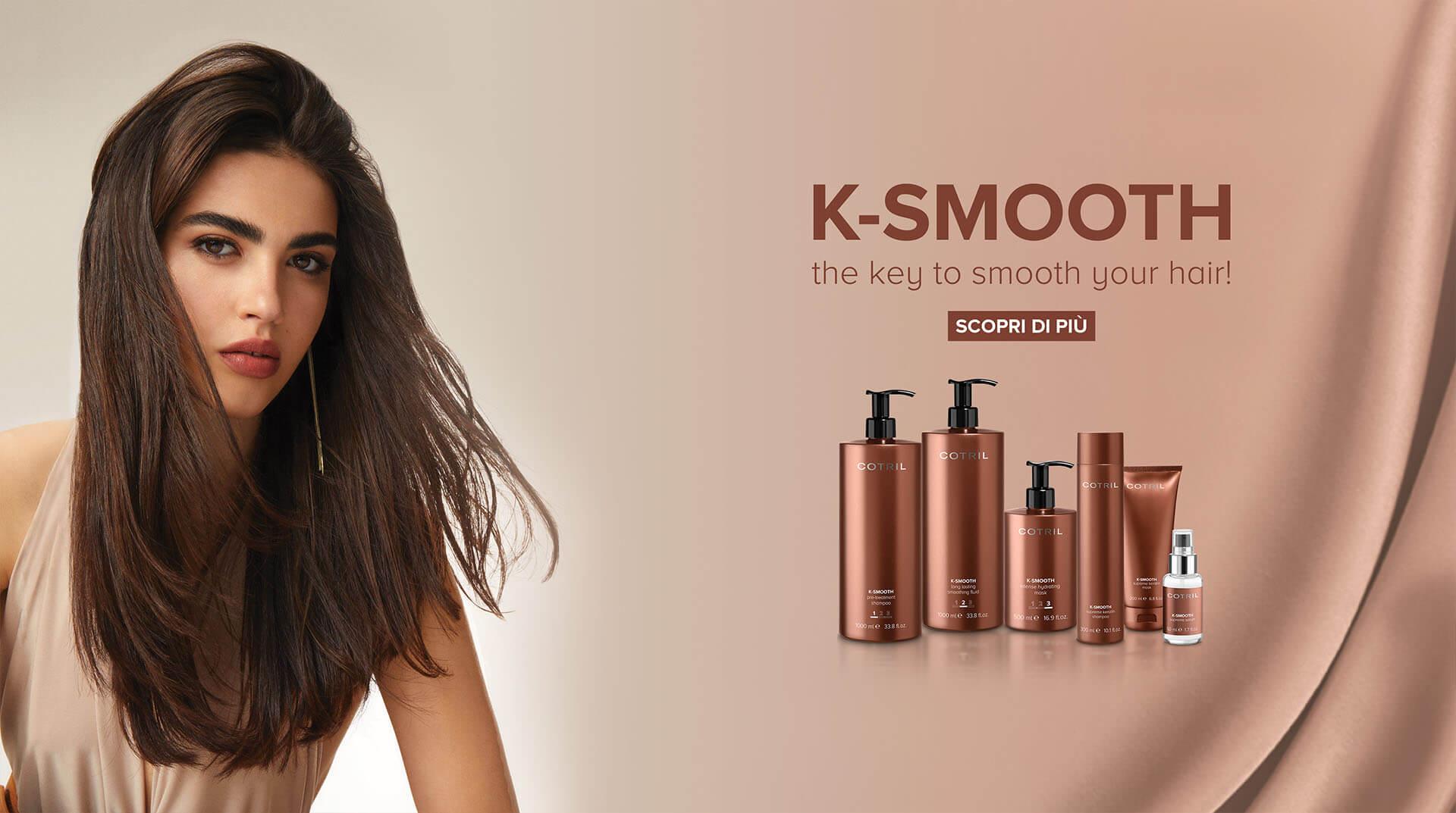 Cotril K-Smooth pro dokonale hladké vlasy