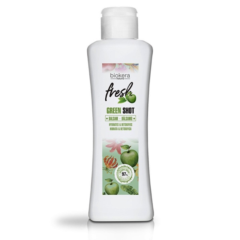 Salerm Biokera Fresh Green Shot kondicionér 300 ml