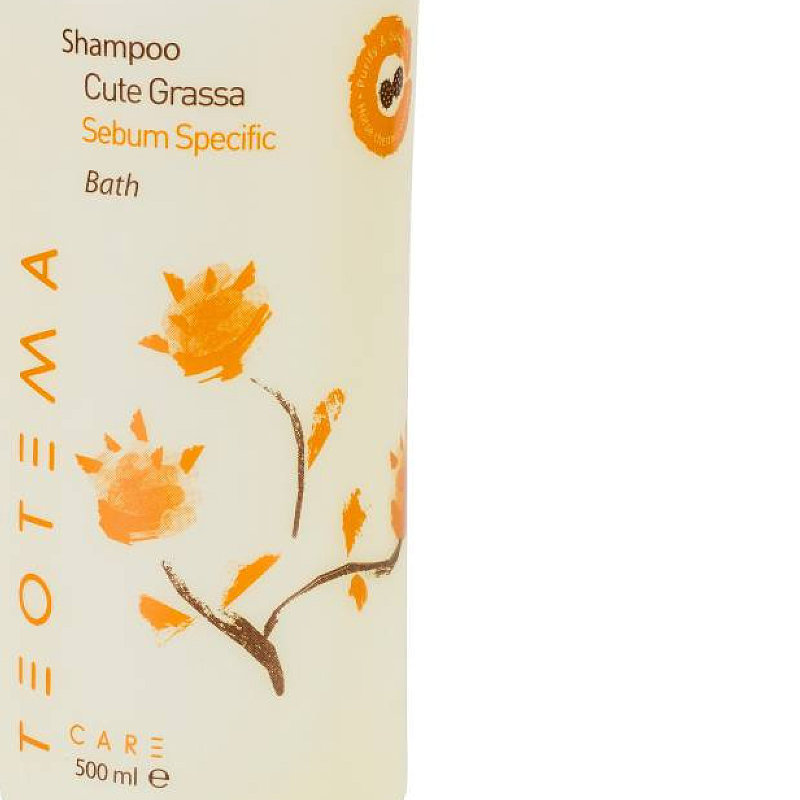 Teotema Sebum Specific Bath šampón na mastné vlasy pH 4.7 500 ml