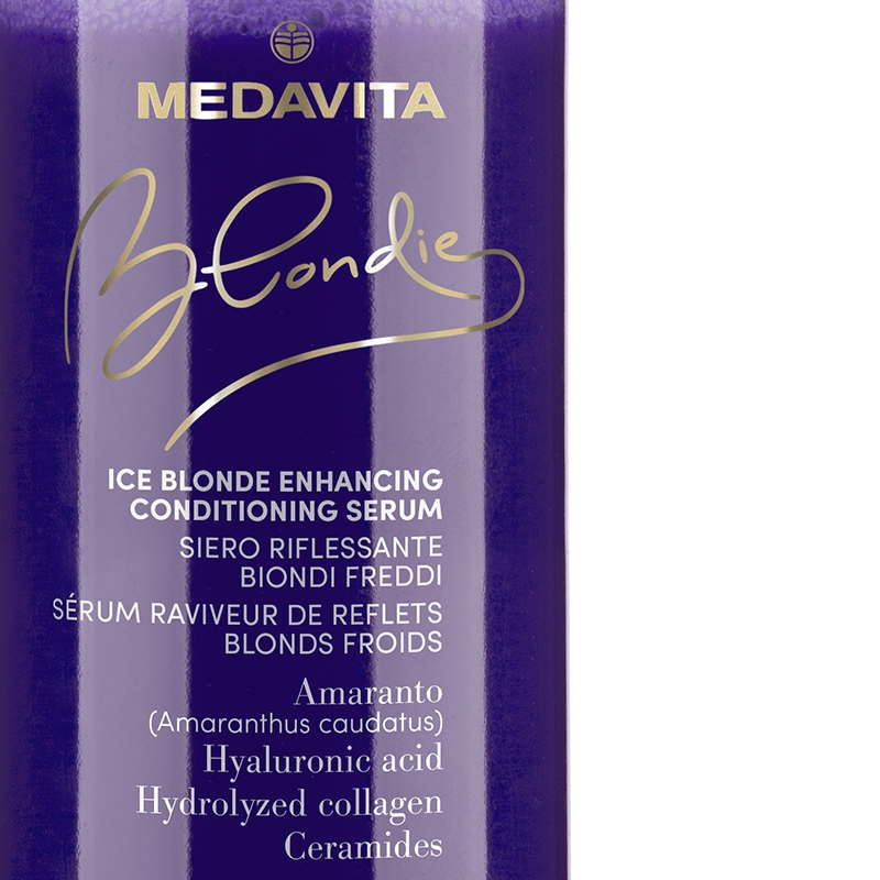 Medavita Blondie Ice Blondes leave-in kondicionér pro studené blond vlasy 150 ml
