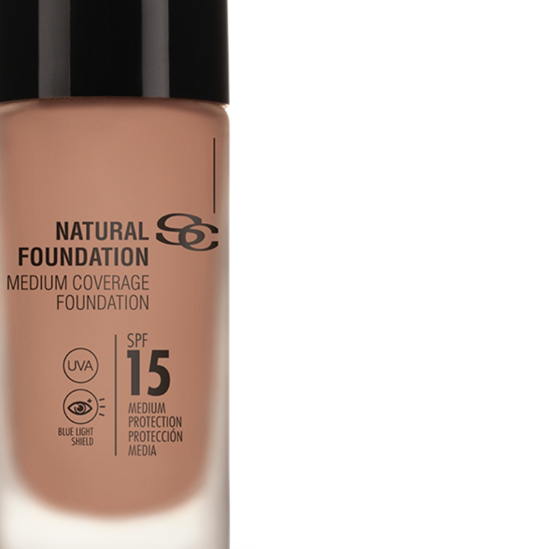 Salerm Beauty Line Natural Foundation středně krycí make-up F40 30 ml