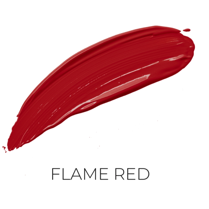 Salerm Beauty Line Perfect Matte matná tekutá rtěnka PM06 Flame Red 9 ml