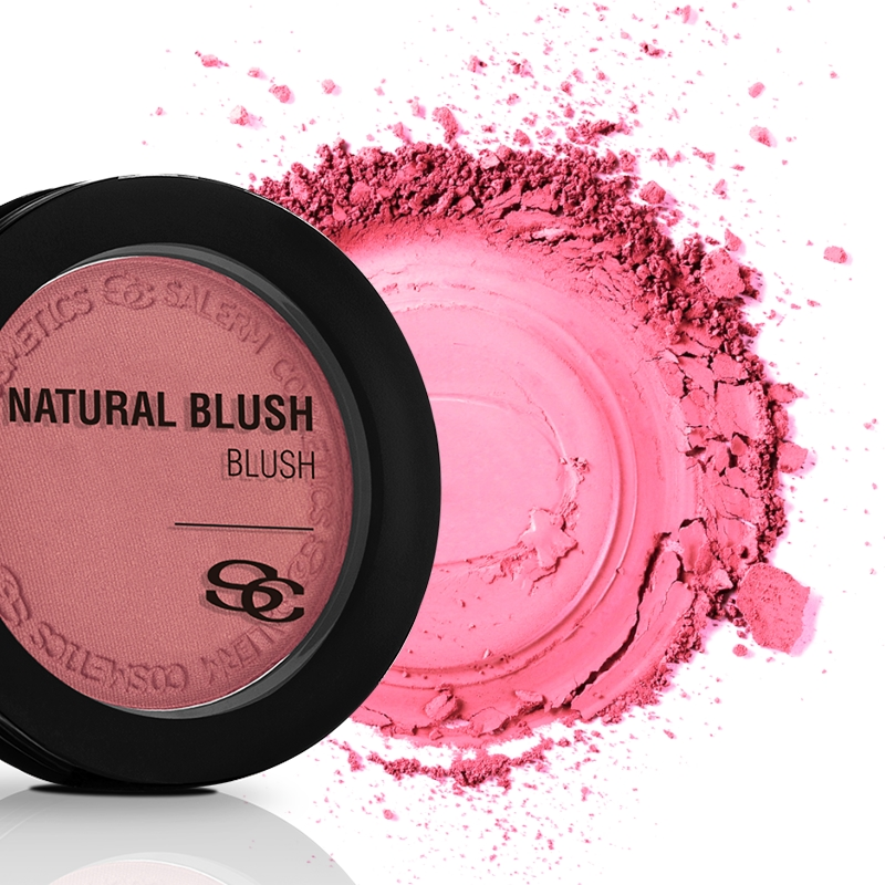 Salerm Beauty Line Natural Blush tvářenka NB02 Sweet Rose 7 g