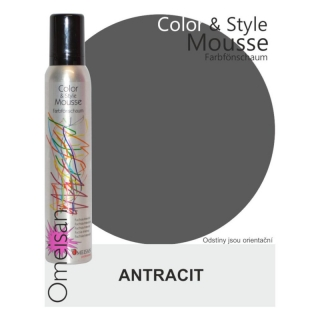 Omeisan Color & Style Mousse tužidlo antracit 200 ml